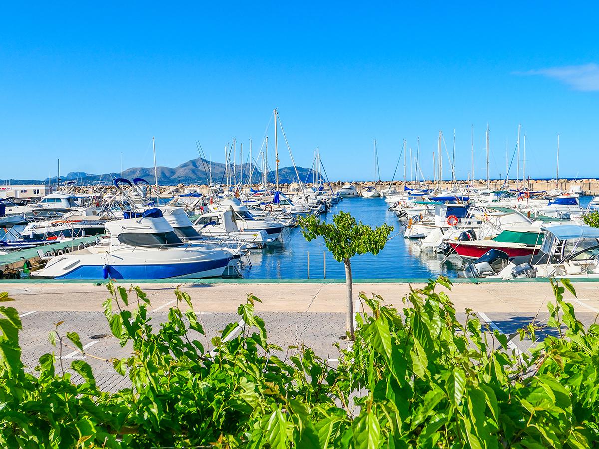 Mallorca Radreise - Can Picafort, Hafen