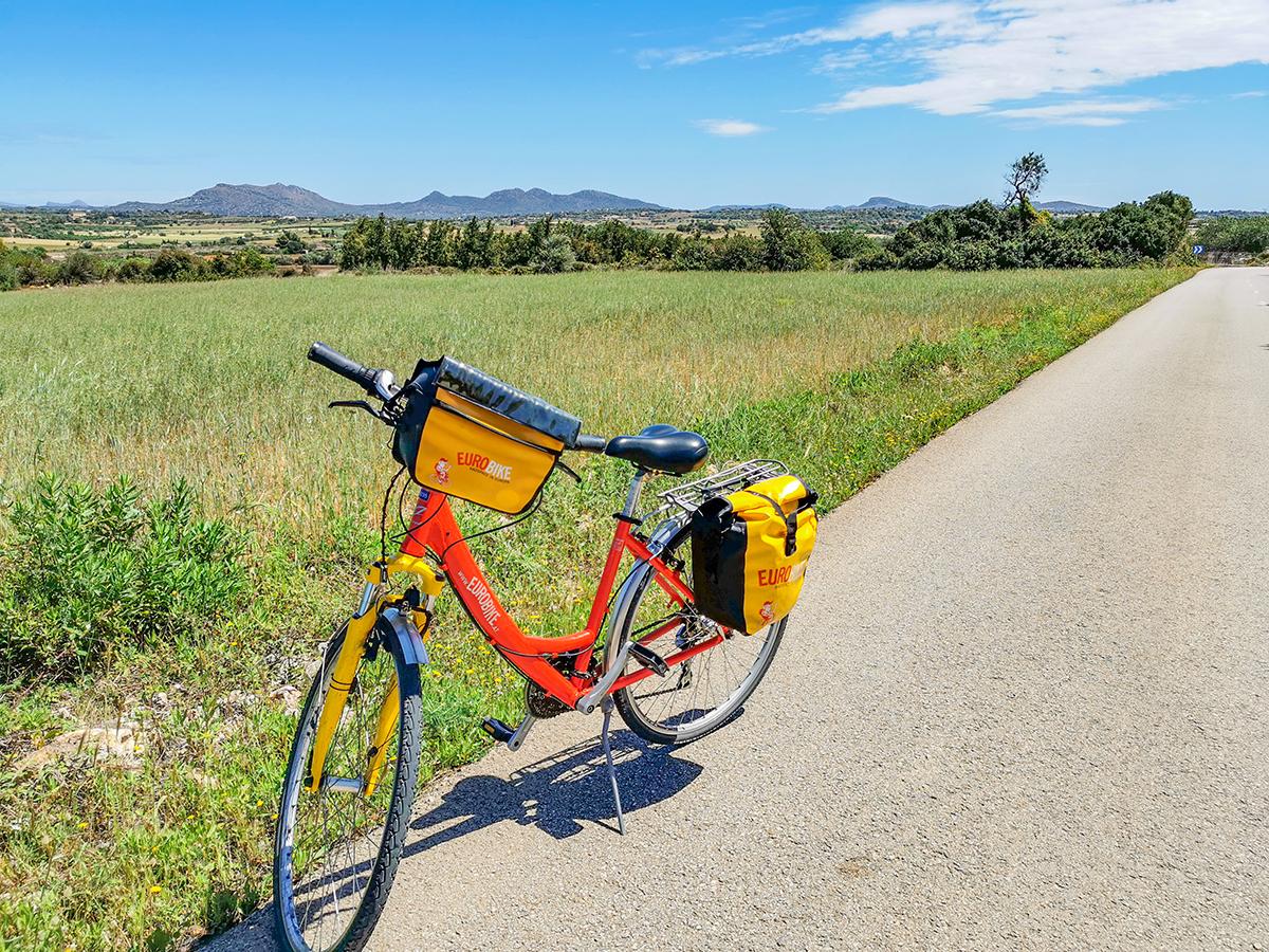 Mallorca Radreise - Son Carrio, Landschaft