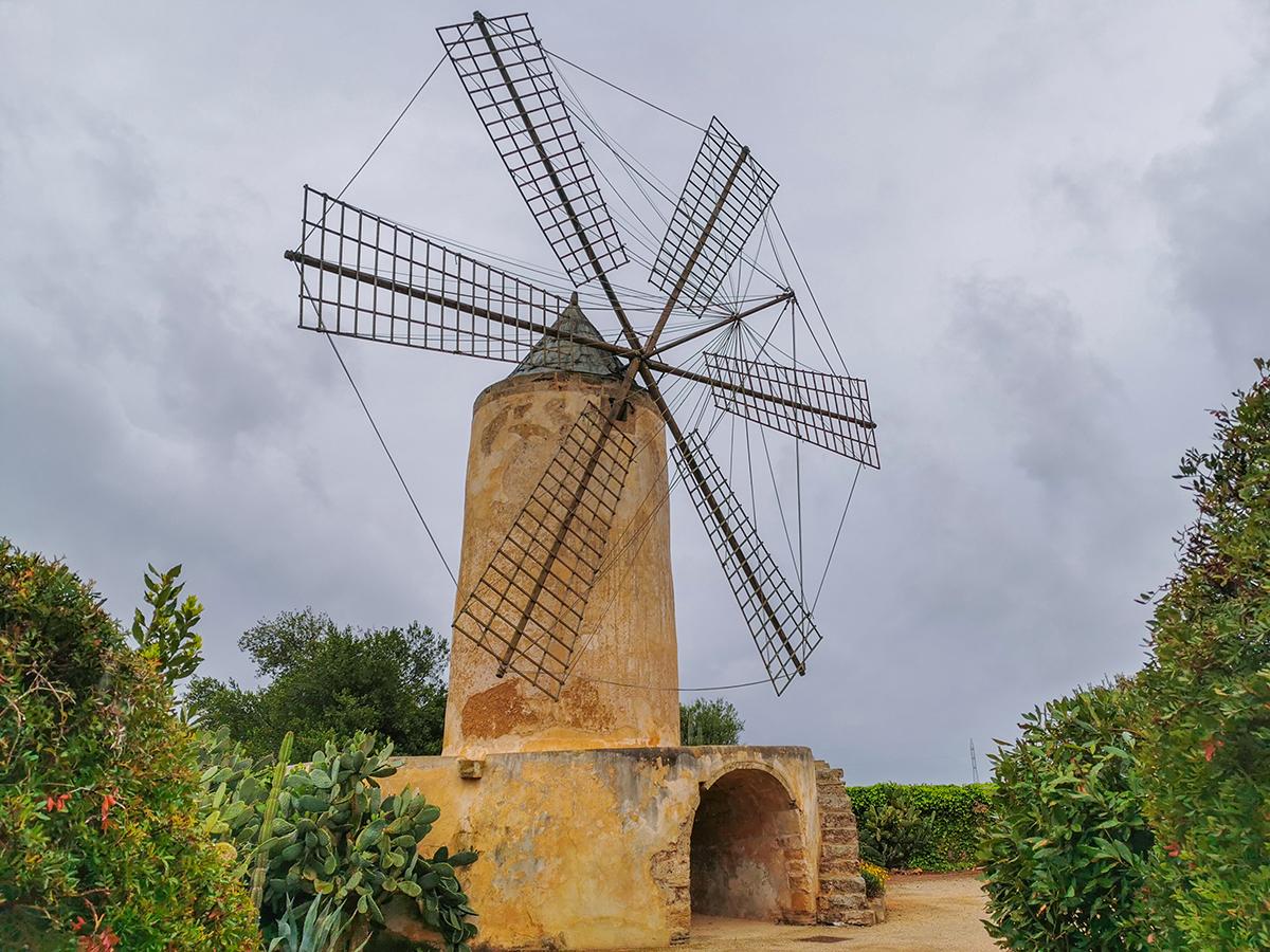 Mallorca Radreise - Erste Etappe, Windmühle