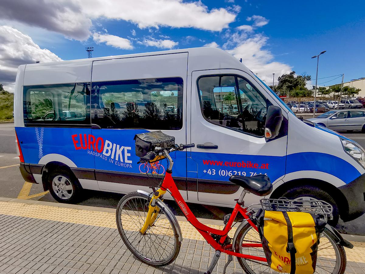 Mallorca Radreise - Bustransfer Eurobike