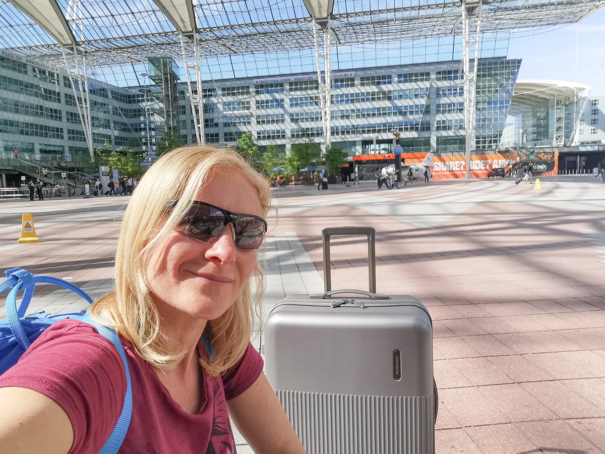 Mallorca Radreise - Hinflug, Flughafen München