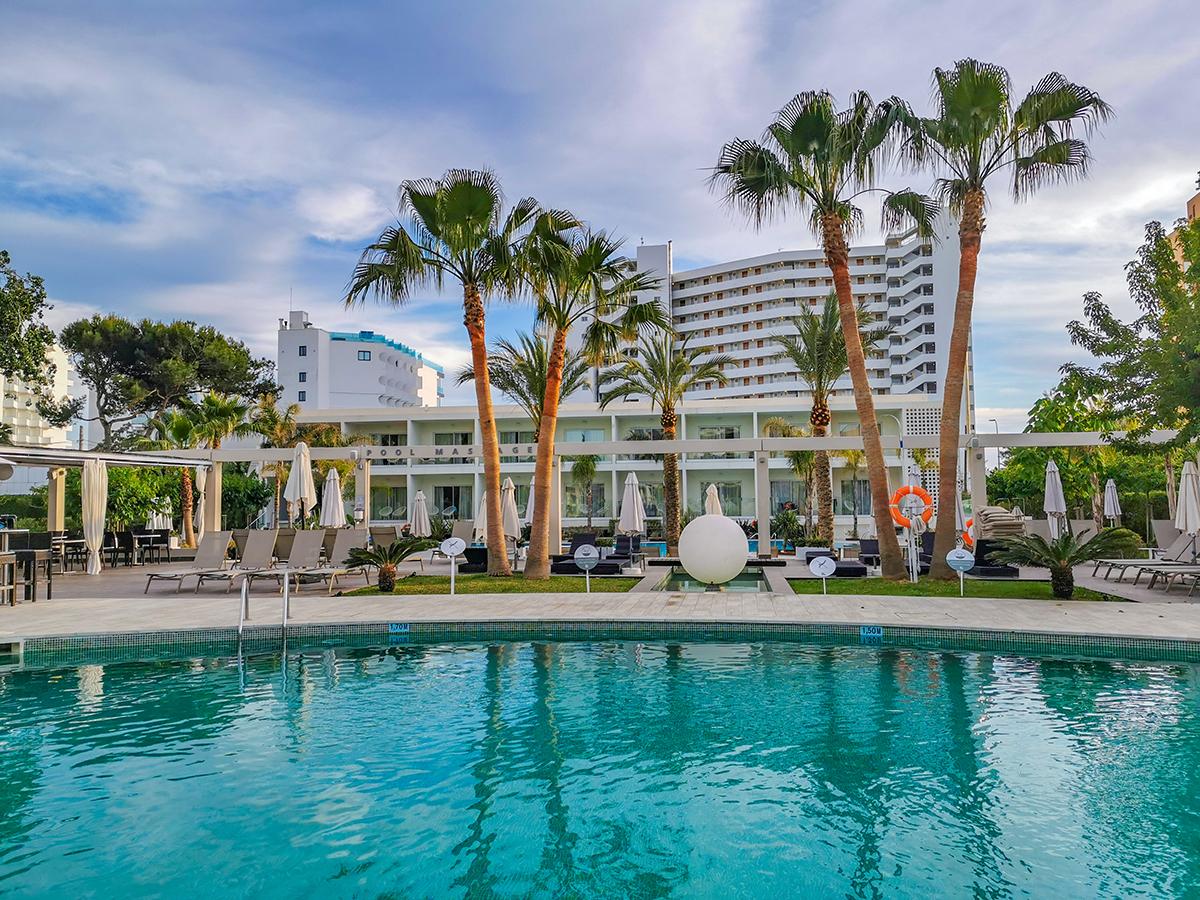 Mallorca Radreise - Hotel Caballero, Pool