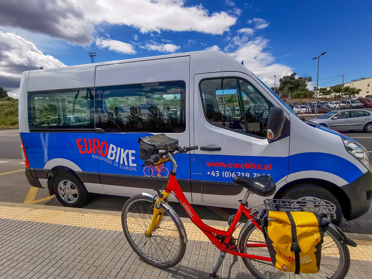 Mallorca Radreise - Inca, Eurobike-Transfer