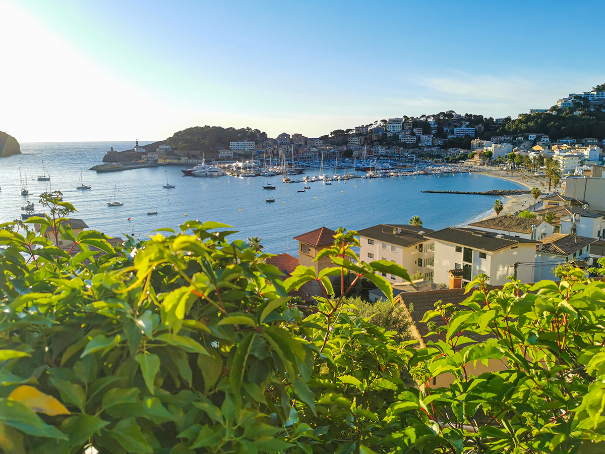 Mallorca Radreise - Port de Soller, Ausblick