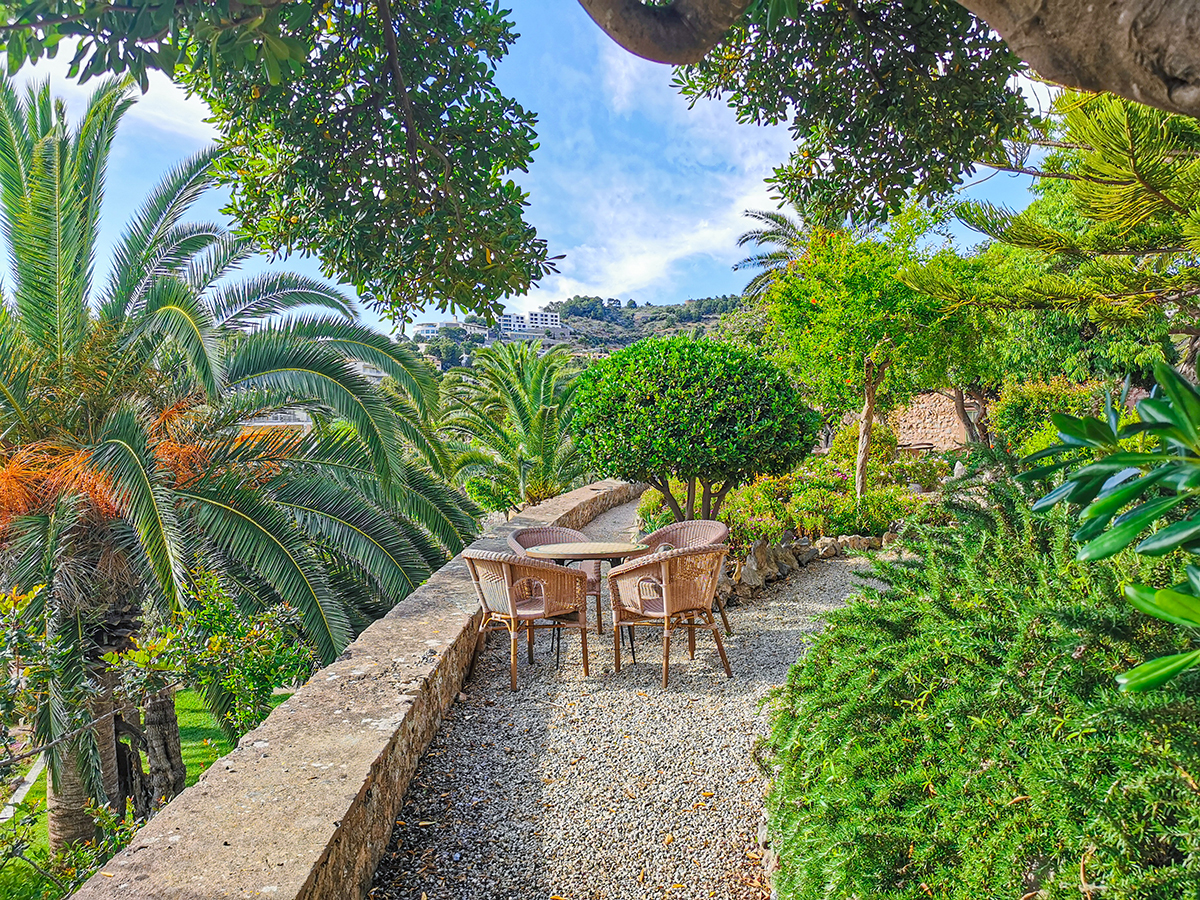 Mallorca Radreise - Hotel Es Port in Port de Soller, Garten