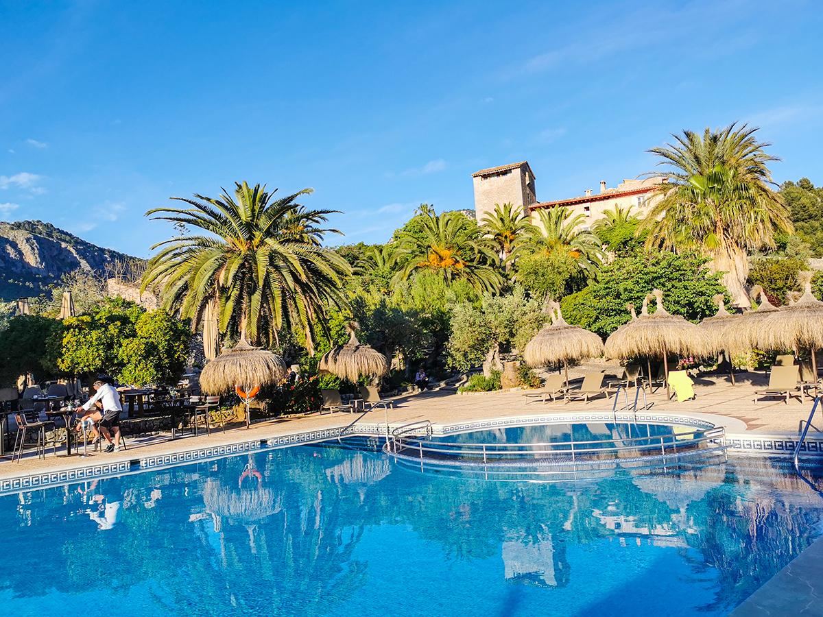 Mallorca Radreise - Hotel Es Port in Port de Soller, Pool