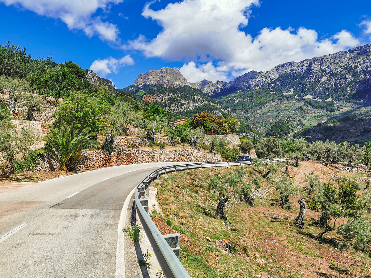 Mallorca Radreise - Serra de Tramuntana - Fornalutx