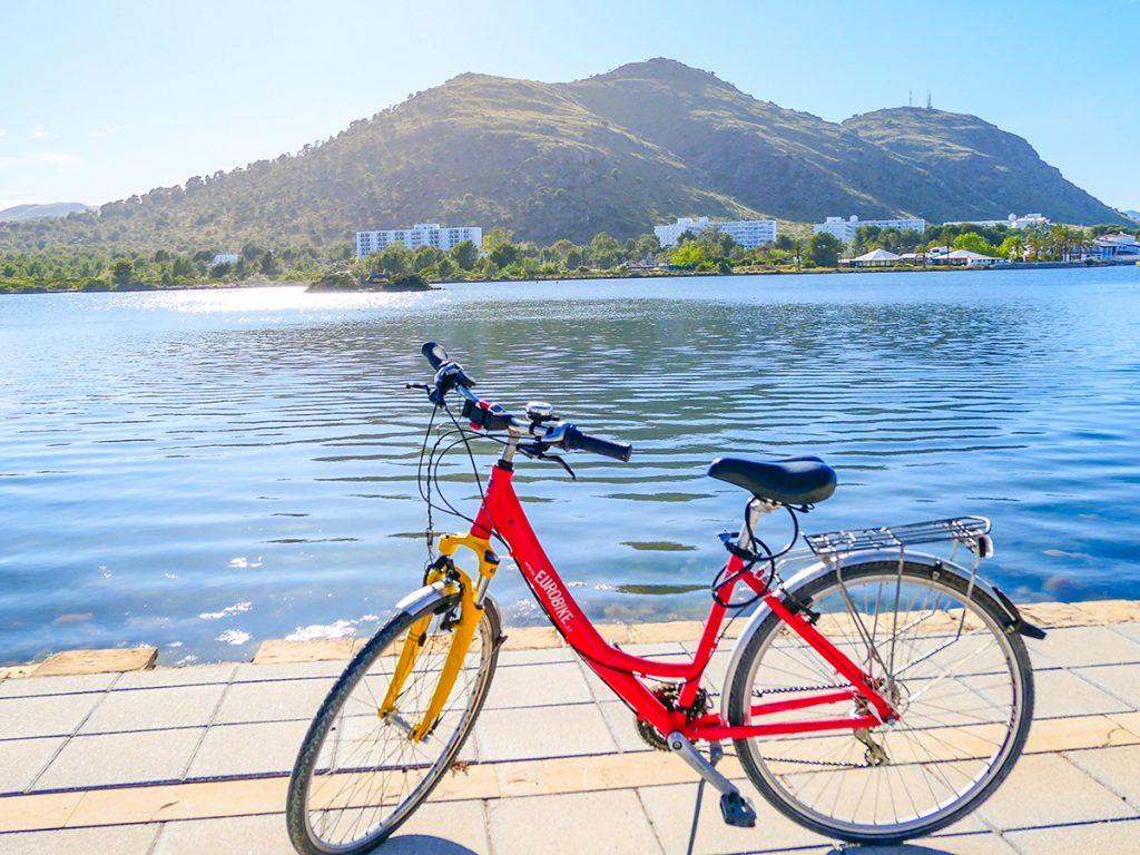 Mallorca Radreise - Port d'Alcudia, s'Estany Gran