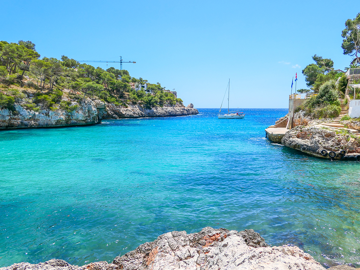 Mallorca Radreise - Cala Santayi