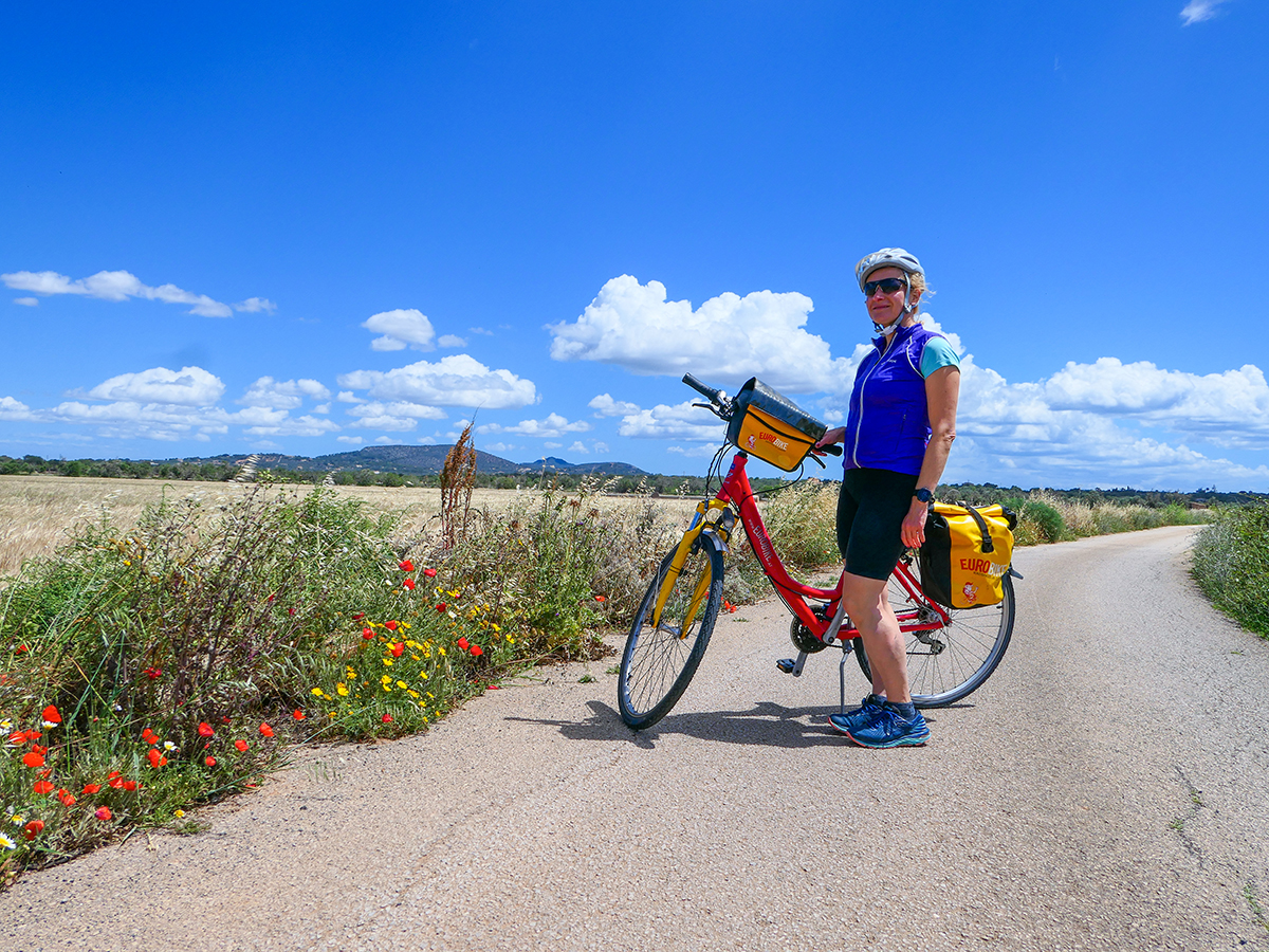 Mallorca Radreise - Getreidefeld