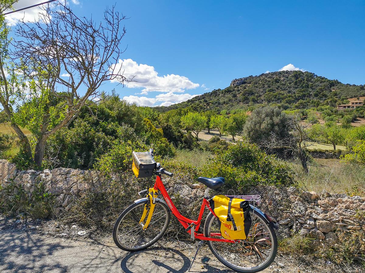 Mallorca Radreise - S'Alqueria Blanca, Landschaft