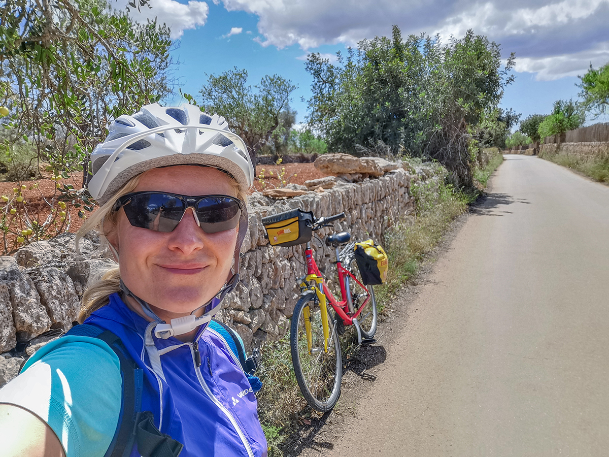 Mallorca Radreise - Porto Cristo, Landschaft