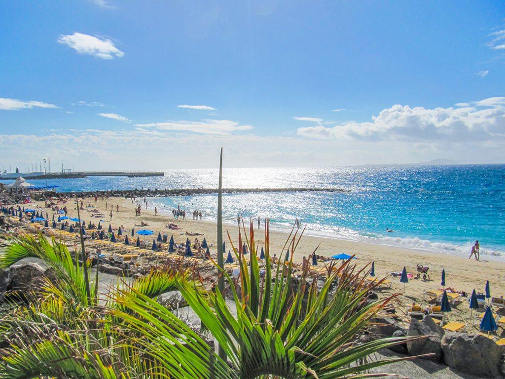 Playa Dorada in Playa Blanca, Lanzarote