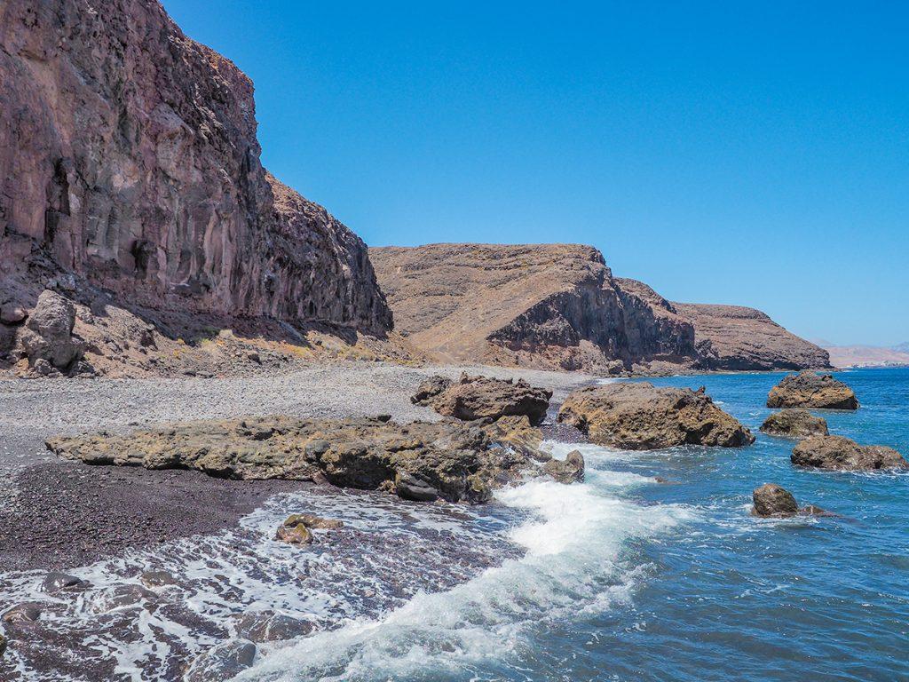 Playa Quemada - einsame Bucht