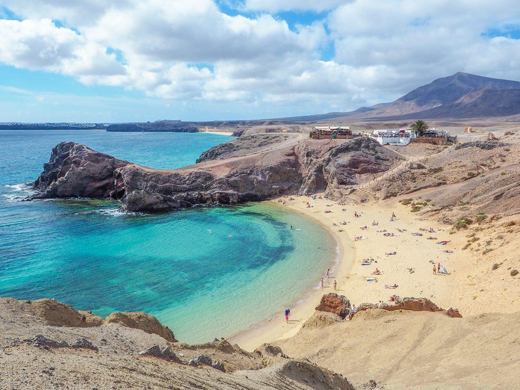 Playa de Papagayo - Lanzarote