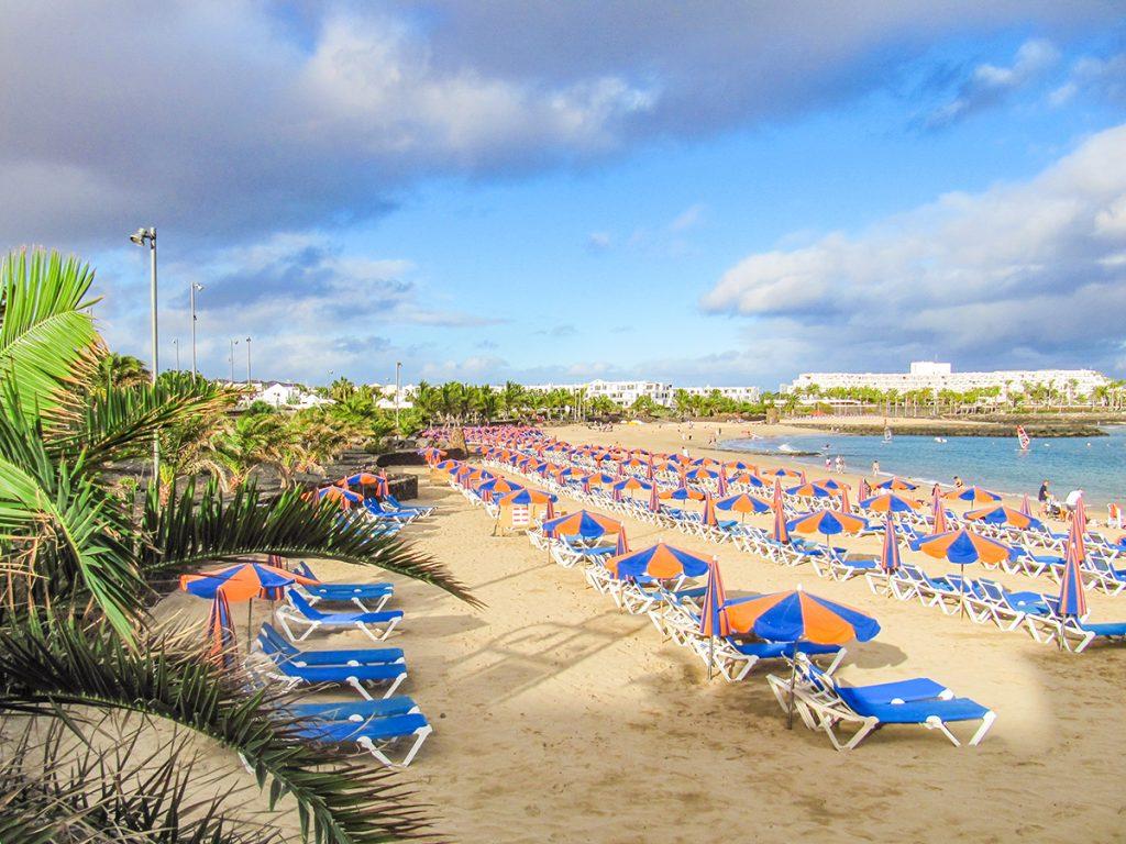 Playa de las Cucharas - Costa Teguise, Lanzarote