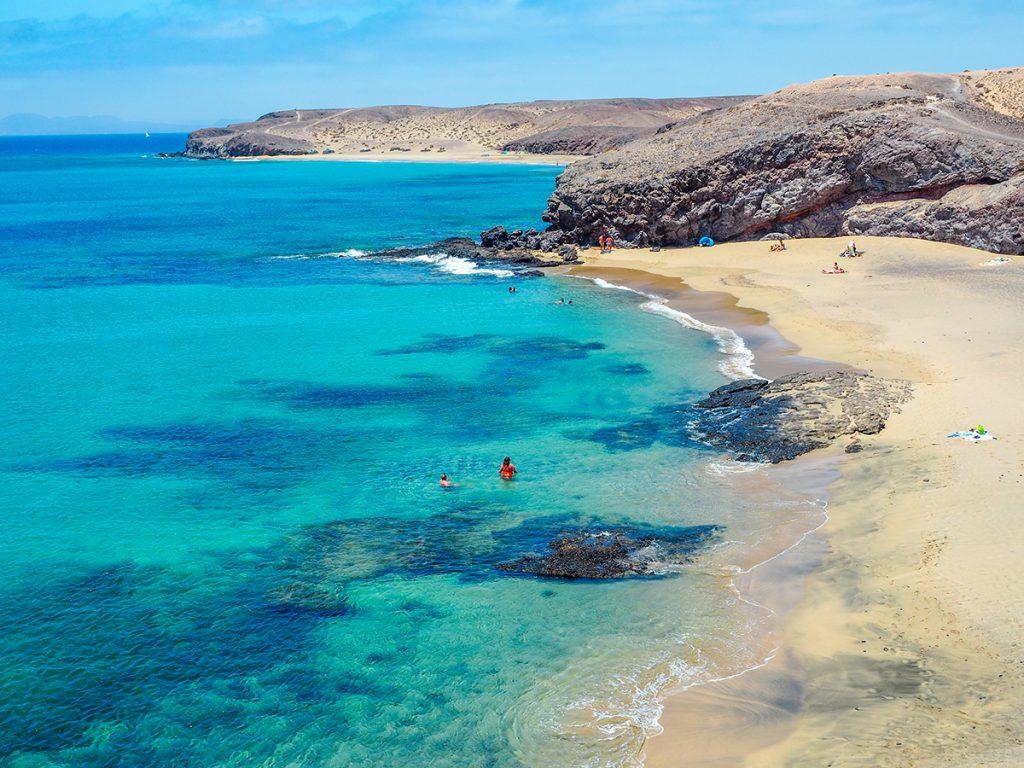 Playas de Papagayo - Playa Blanca, Lanzarote