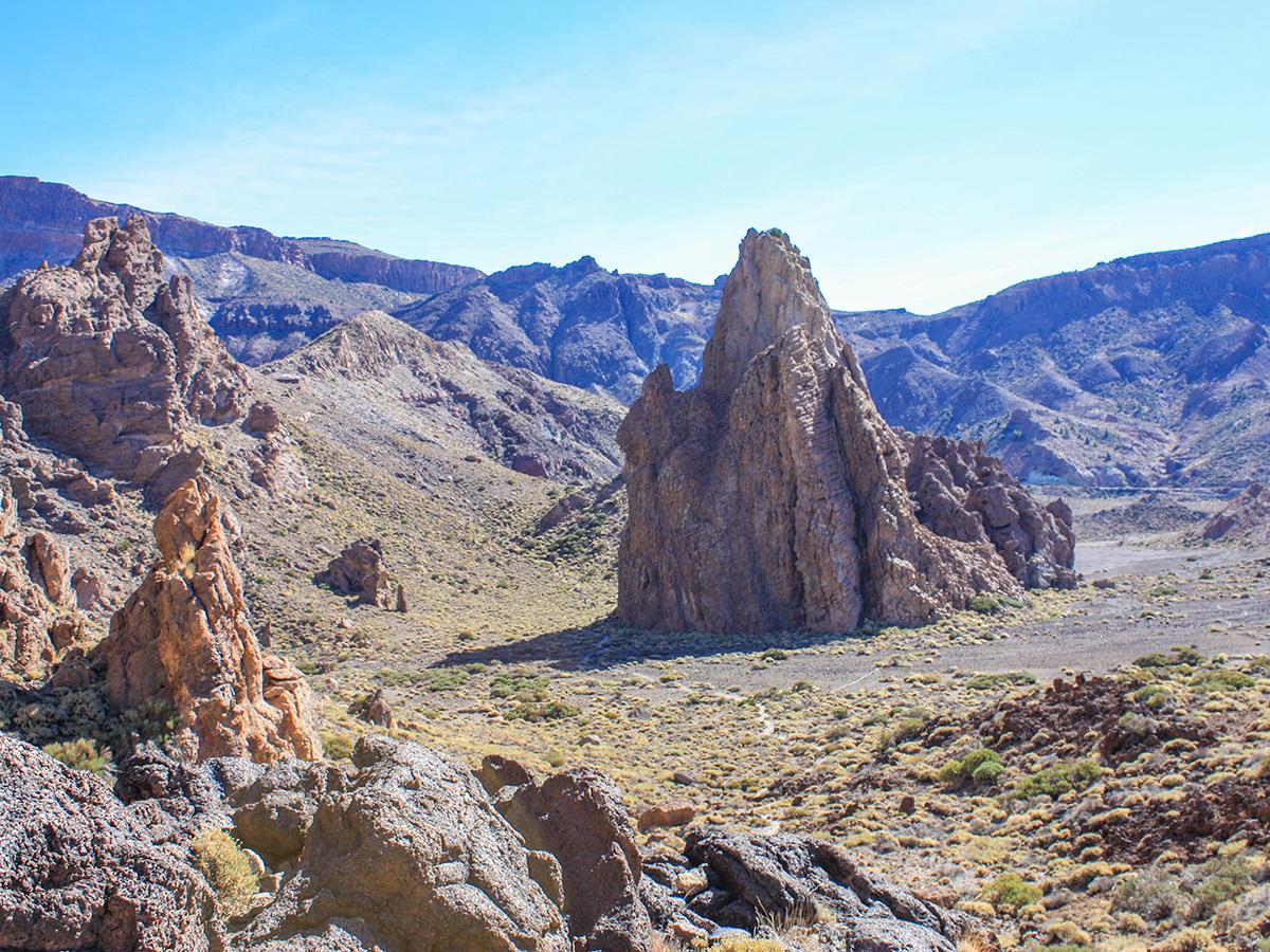 Teneriffa Wanderung - Roques de Garcia