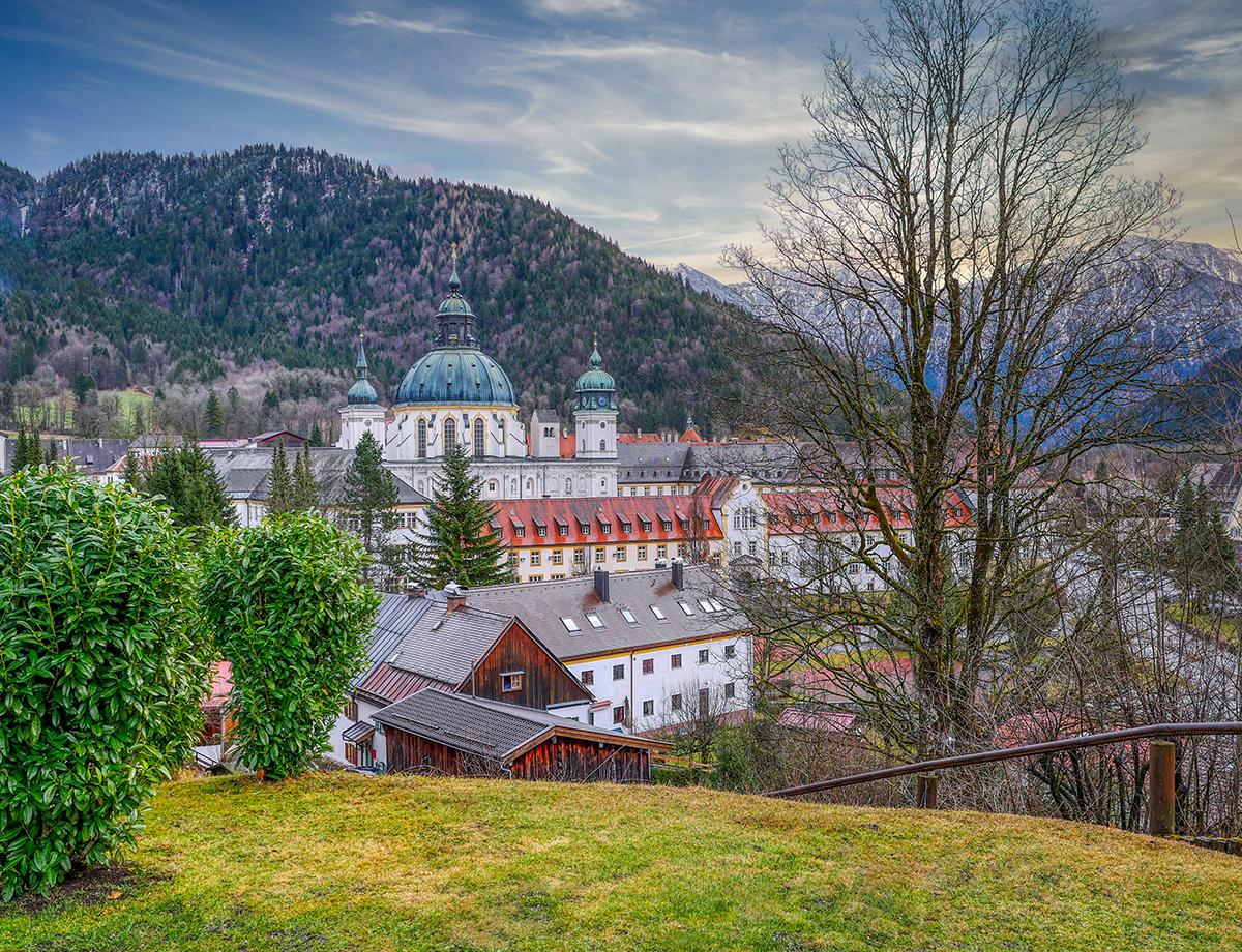Meditationsweg Ammergauer Alpen - Kloster Ettal