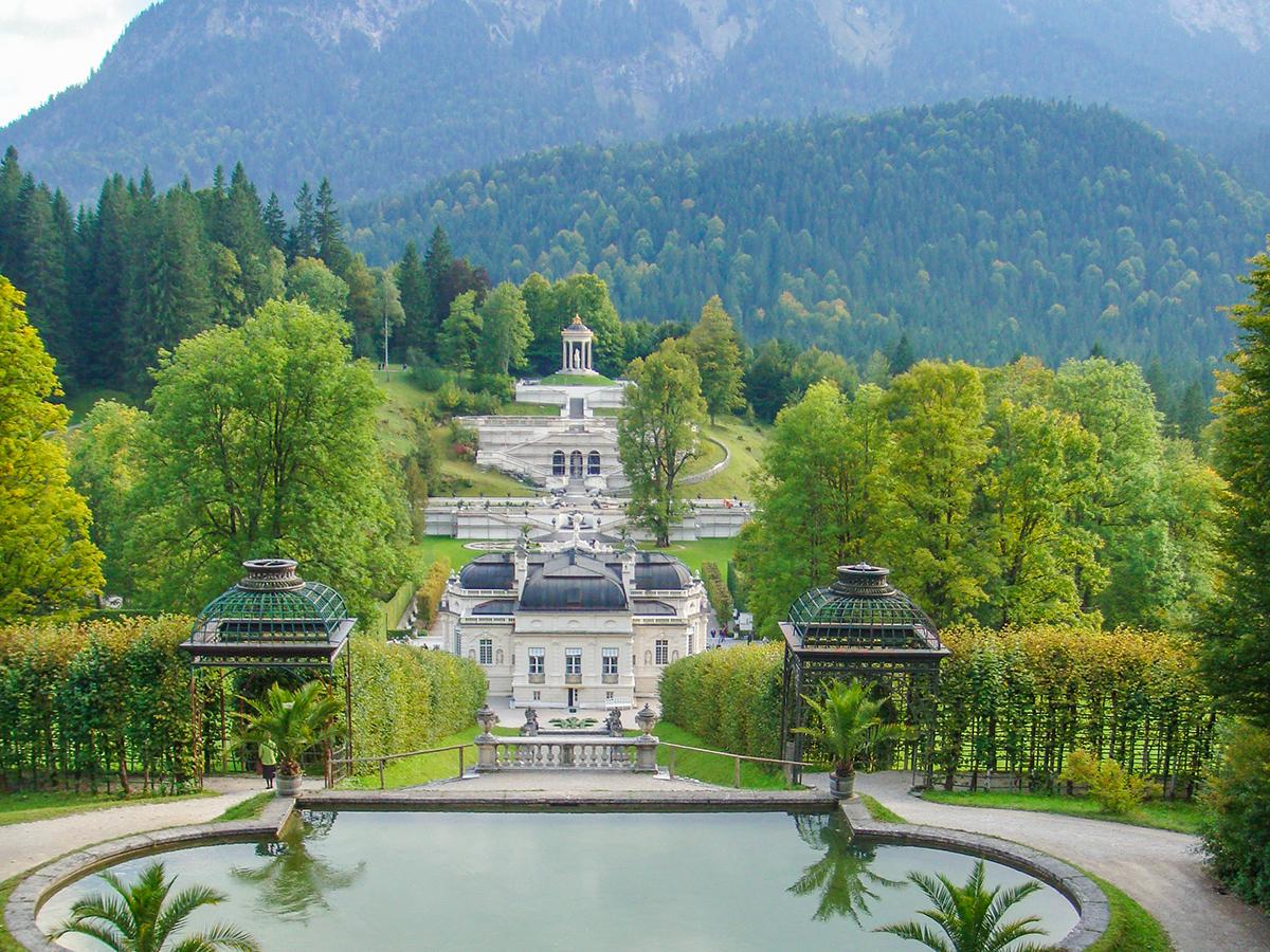 Meditationsweg Ammergauer Alpen - Schloss Linderhof