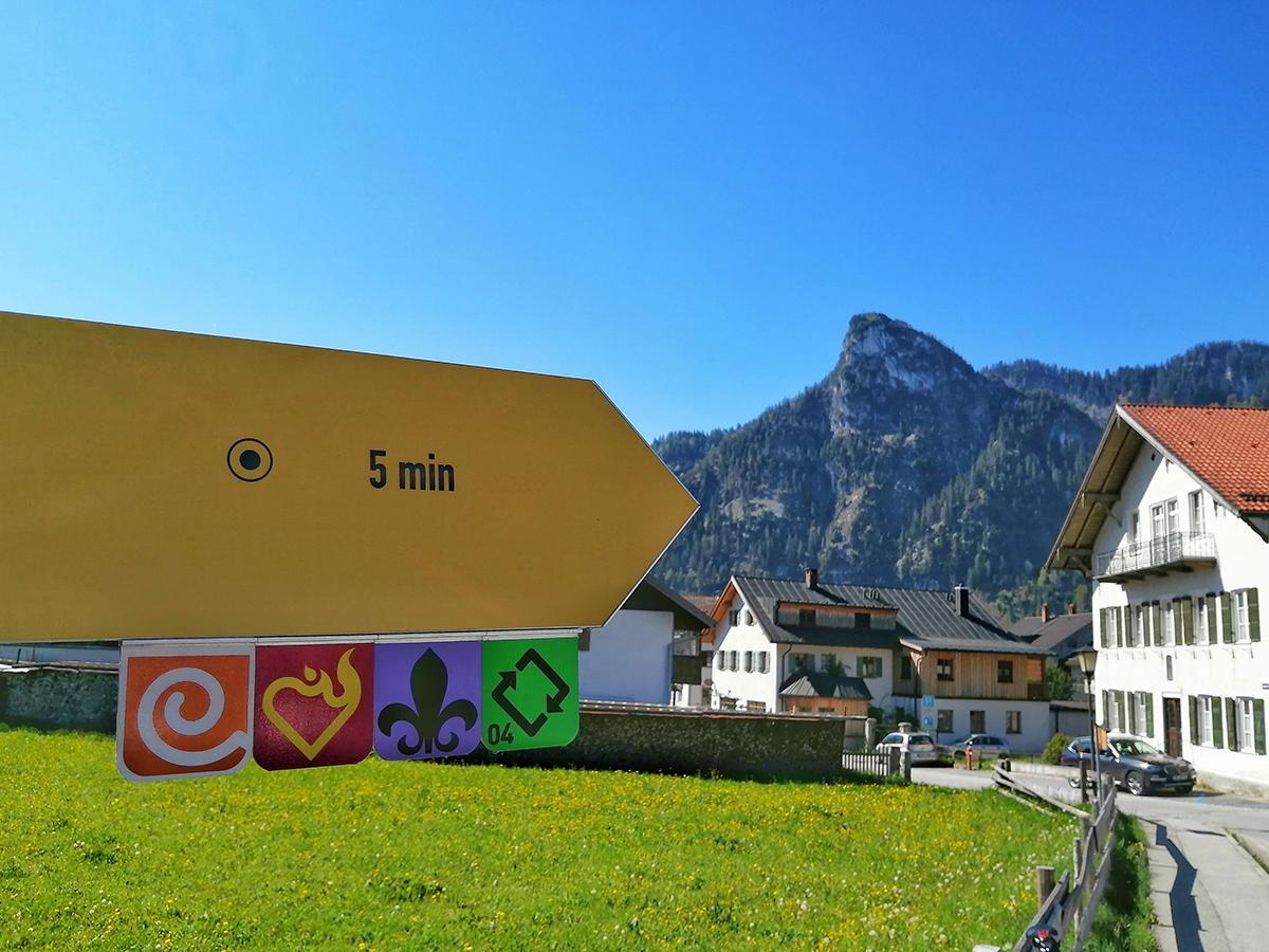 Meditationsweg Ammergauer Alpen - Wanderwegweiser