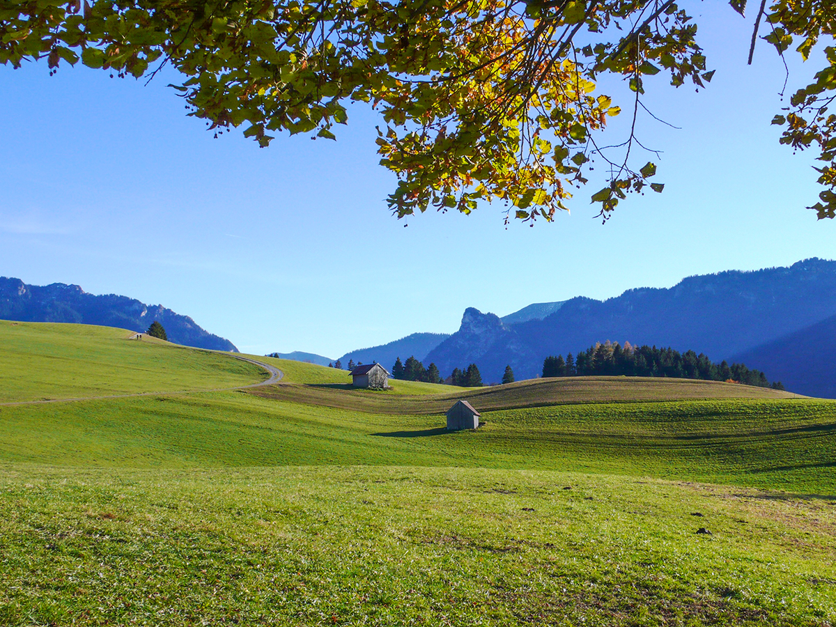 Meditationsweg Ammergauer Alpen - bei Unterammergau