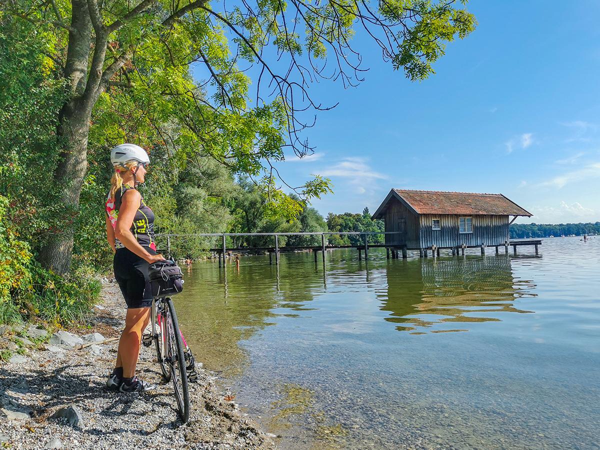 Rennradfahren Ammersee