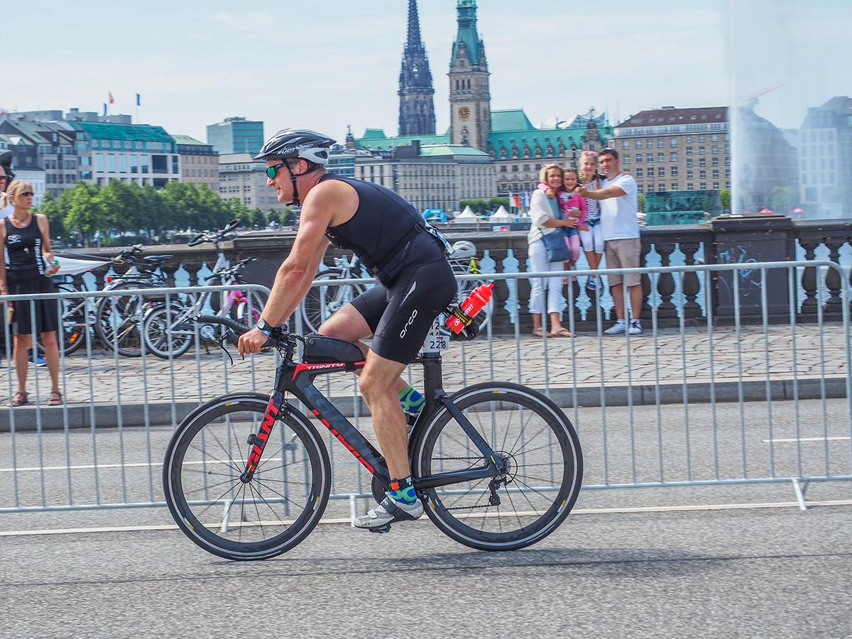 Rennradfahren - Ironman Hamburg