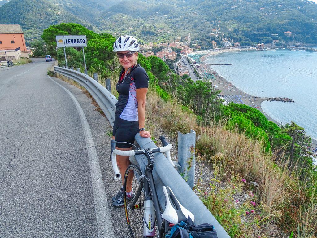 Rennradfahren in Ligurien