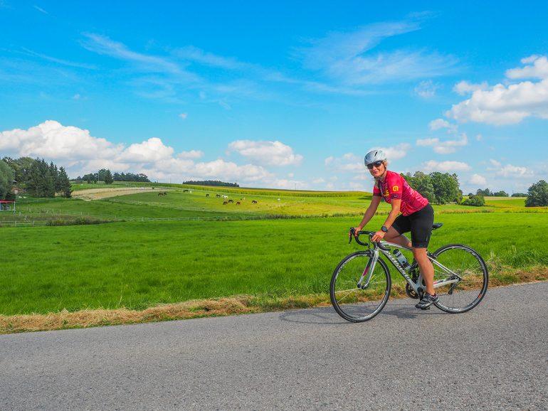 Rennradfahren im Münchner Norden