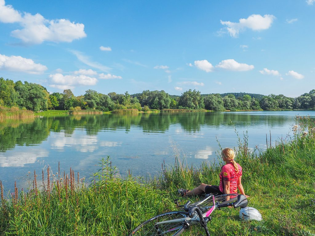Rennradfahren - Pausen einlegen