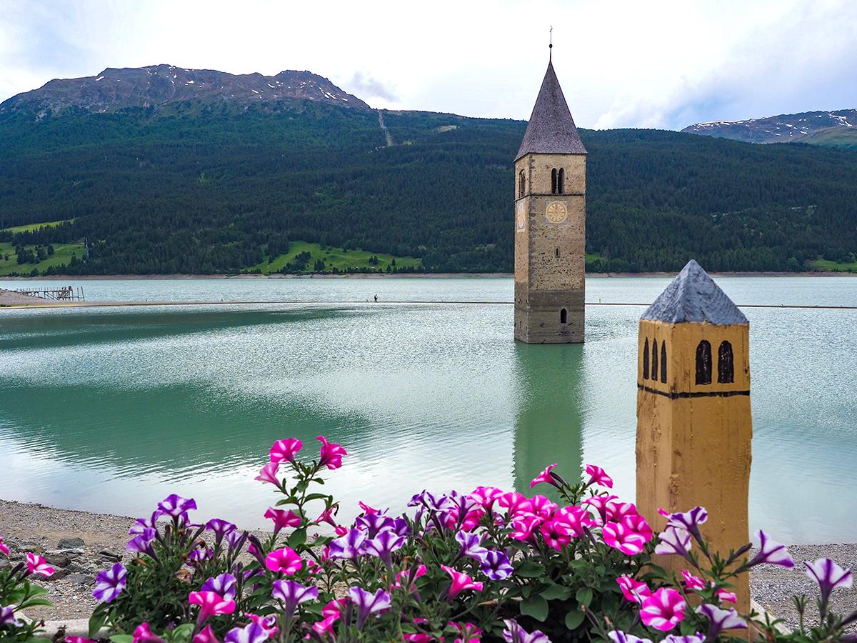 Reschensee - Graun, Kirchturm
